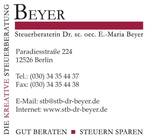 Steuerberaterin Beyer